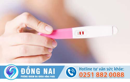Hướng dẫn cách dùng que thử thai tại nhà